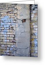 Abstract Brick 4 Greeting Card