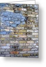 Abstract Brick 6 Greeting Card