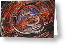 Abstract- Circle Greeting Card