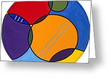 Abstract Circles 2 Greeting Card