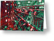 Red Berlin Sound Greeting Card