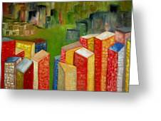 Abstract Cityscape Project Series II Greeting Card