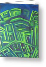 Abstract Cityscape Series IIi Greeting Card