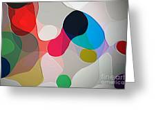 Abstract Collection 020 Greeting Card