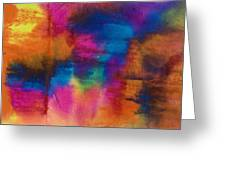 Abstract Colors 28994 Greeting Card