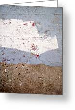 Abstract Concrete 13 Greeting Card