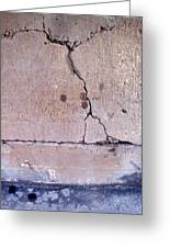 Abstract Concrete 3 Greeting Card