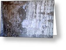 Abstract Concrete 8 Greeting Card