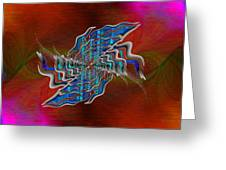 Abstract Cubed 271 Greeting Card