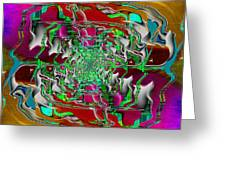 Abstract Cubed 275 Greeting Card