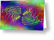 Abstract Cubed 298 Greeting Card