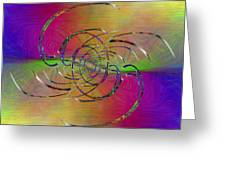 Abstract Cubed 317 Greeting Card