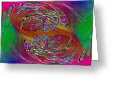 Abstract Cubed 320 Greeting Card