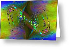Abstract Cubed 361 Greeting Card