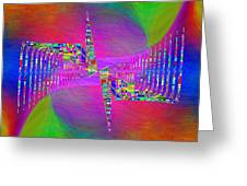 Abstract Cubed 373 Greeting Card