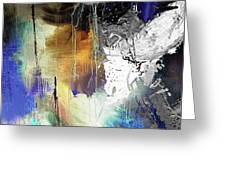 Abstract Dance Greeting Card