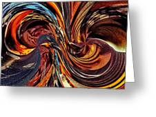 Abstract Delight Greeting Card