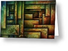 Abstract Design 102 Greeting Card