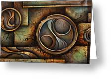 Abstract Design 13 Greeting Card