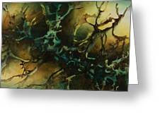 Abstract Design 86 Greeting Card by Michael Lang