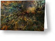 Abstract Design 88 Greeting Card by Michael Lang