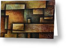 Abstract Design 9 Greeting Card