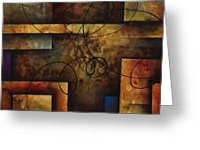 abstract design  A Greeting Card