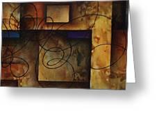 abstract design  B Greeting Card