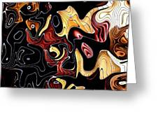 Abstract Digital Art #030 Greeting Card