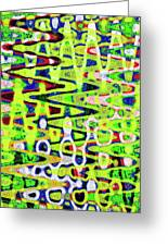 Abstract Dr #6 Greeting Card