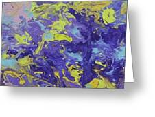 Abstract Duo Greeting Card