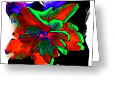 Abstract Elegance Greeting Card