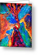 Abstract - Evolution Series 1004 Greeting Card
