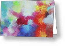 Abstract Expressions Greeting Card