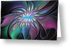 Abstract Fantasy Greeting Card