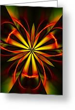 Abstract Floral 032811 Greeting Card