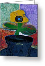 Abstract Floral Art 115 Greeting Card