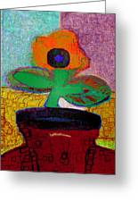 Abstract Floral Art 116 Greeting Card
