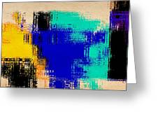 Abstract For2 Greeting Card
