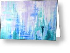 Abstract Frost 2 Greeting Card