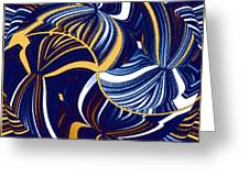 Abstract Fusion 279 Greeting Card