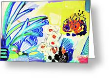Abstract Garden Greeting Card