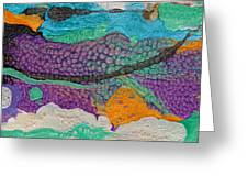 Abstract Garden Of Thoughts Greeting Card