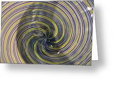 Abstract Glass 6 Greeting Card