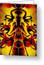 Abstract Graffiti 19 Greeting Card
