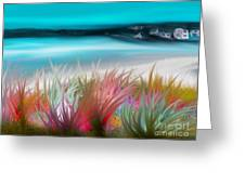 Abstract Grass Series 17 Greeting Card