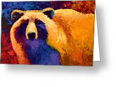 Abstract Grizz II Greeting Card