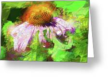 Abstract Harmony Greeting Card