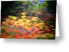 Abstract Impressionist Study 1 Greeting Card