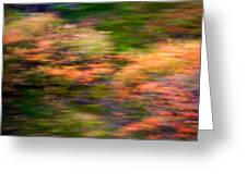 Abstract Impressionist Study 3 Greeting Card
